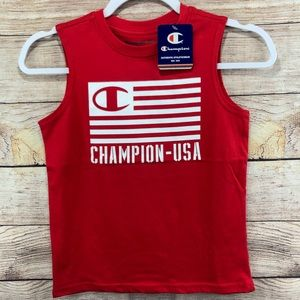 Boys Champion Tank Top Muscle Shirt